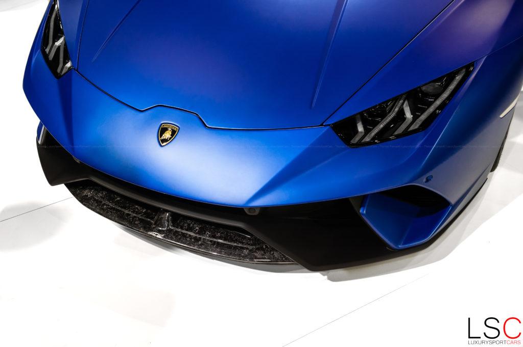 Lamborghini Huracan à Paris
